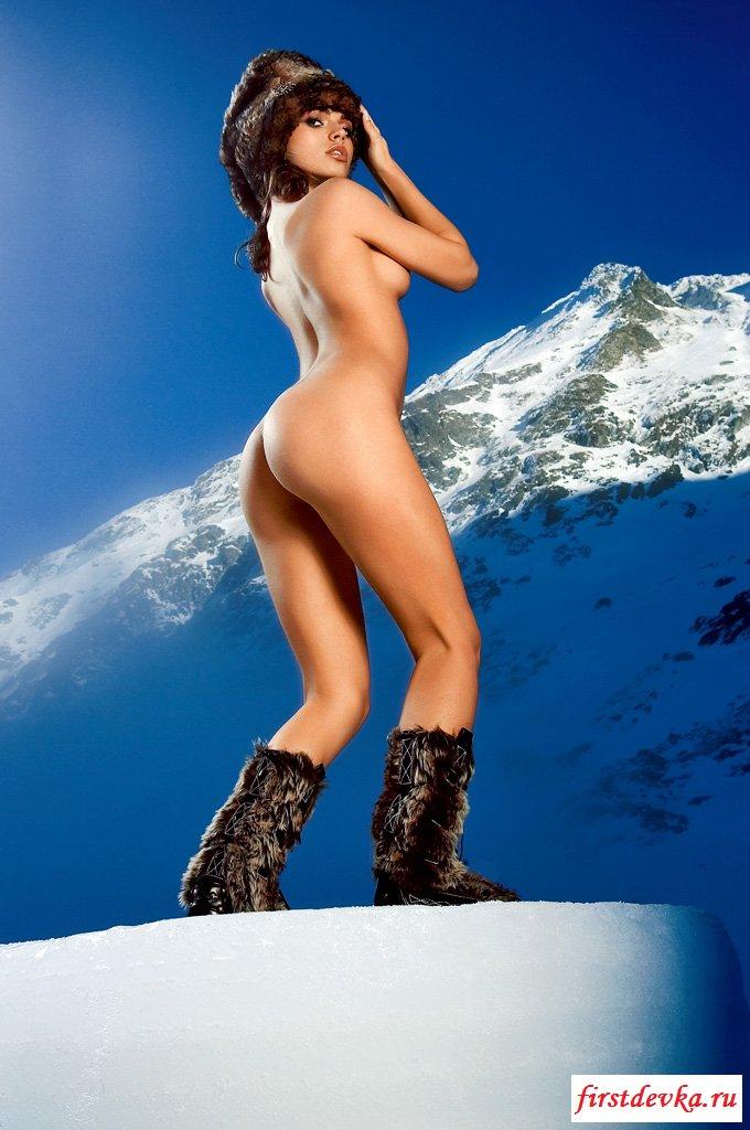 Зимняя фотосессия в горах