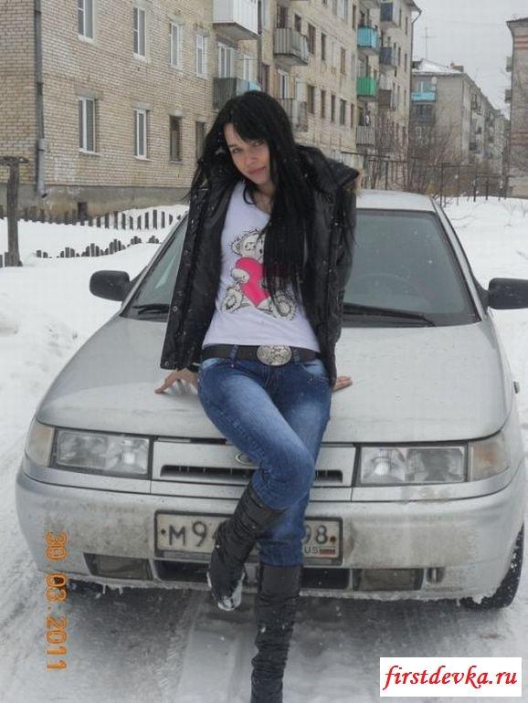 Русские девки и их железные кони