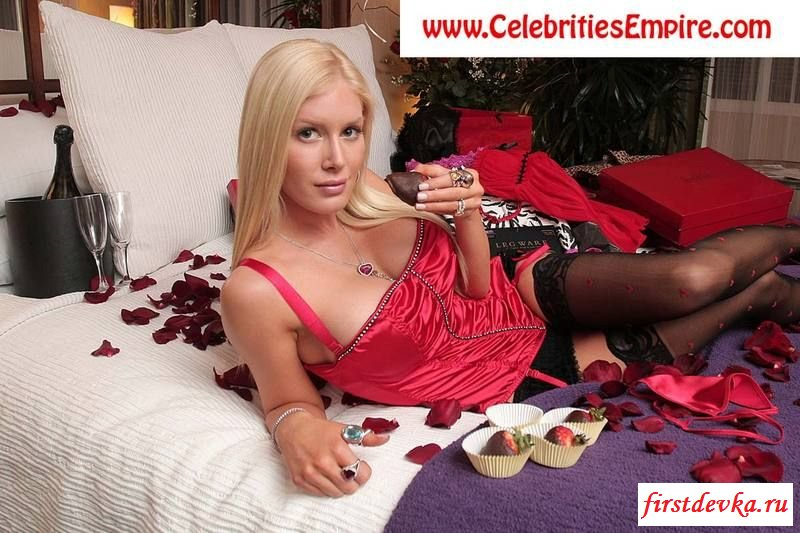 Горячая нагая знаменитость Heidi Montag