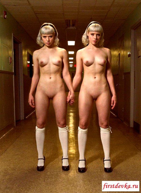 сексапильные двойняшки