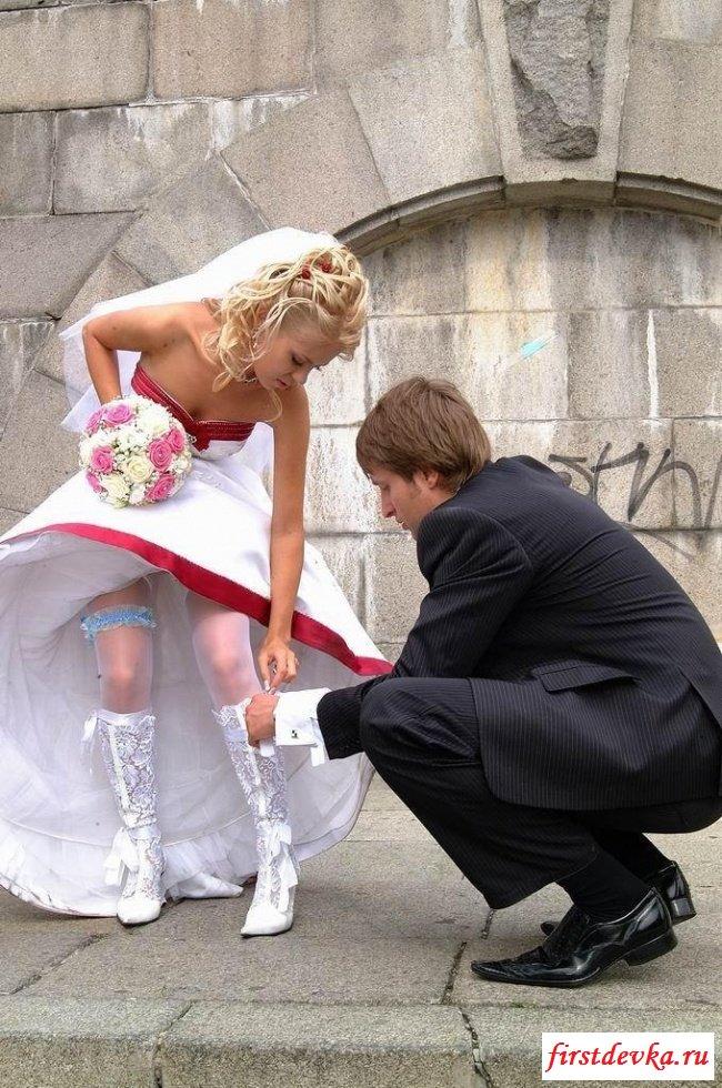 Роскошная подборка невест застигнутых врасплох