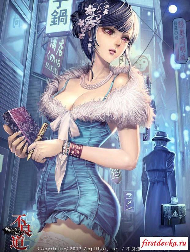 Картинки сексуальных участниц игр и аниме